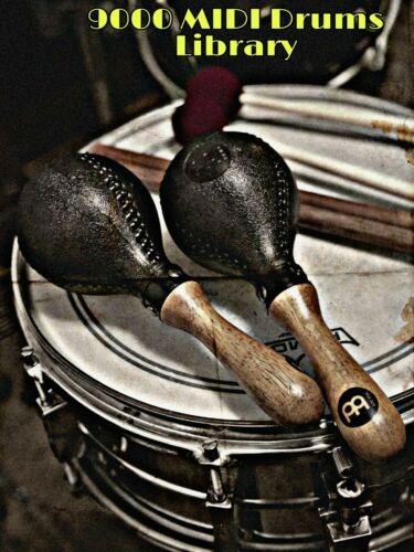 9000 MIDI Drums LibraryMIDI FILESDigital Download
