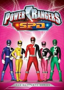 POWER-RANGERS-SPD-THE-COMPLETE-SERIES-NEW-DVD