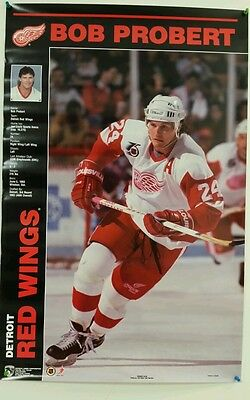 1992 SERGEI FEDOROV Detroit Red Wings Poster NEW STILL SEALED