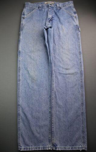 Men's Lee Dungarees Carpenter Jeans Distressed Siz