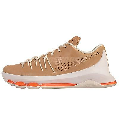 Nike KD 8 EXT VIII Kevin Durant Vachetta Tan Leather Mens Basketball 806393-200