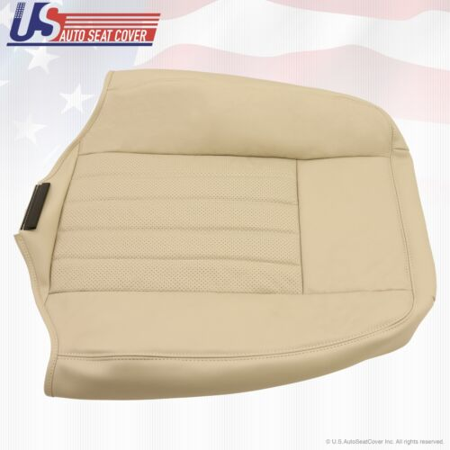 2003 2004 Lincoln Navigator Driver Upper Back Replacement Leather Seat Cover TAN