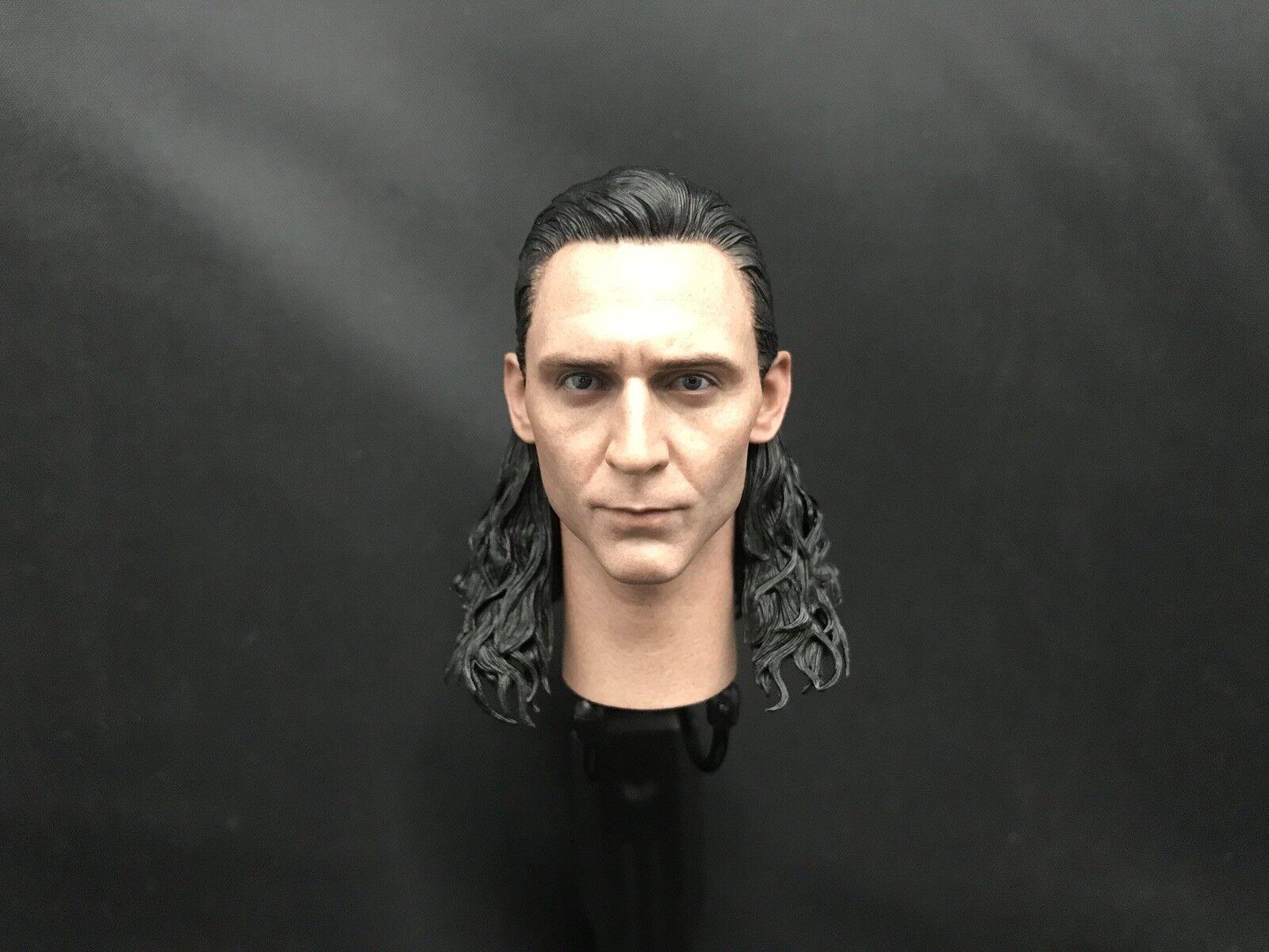 Hot Juguetes 1 6 MMS 472 Thor  Ragnarok Loki-Head Sculpt