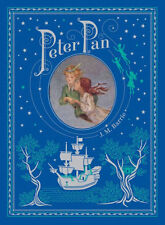 Peter Pan by J. M. Barrie New Sealed Leather Bound Illustrated