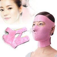 Full Face Slimming Cheek Mask Anti Wrinkle Lift V Face Line Slim Up Belt Strap
