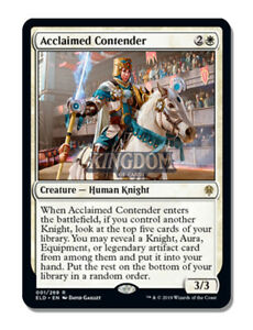 Acclaimed-Contender-Throne-of-Eldraine-NM-English-MTG