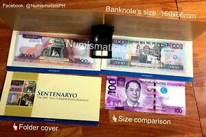 Small-2000-Piso-Centennial-Commemorative-Peso-Bill-160mm-x-66mm-Wallet-size