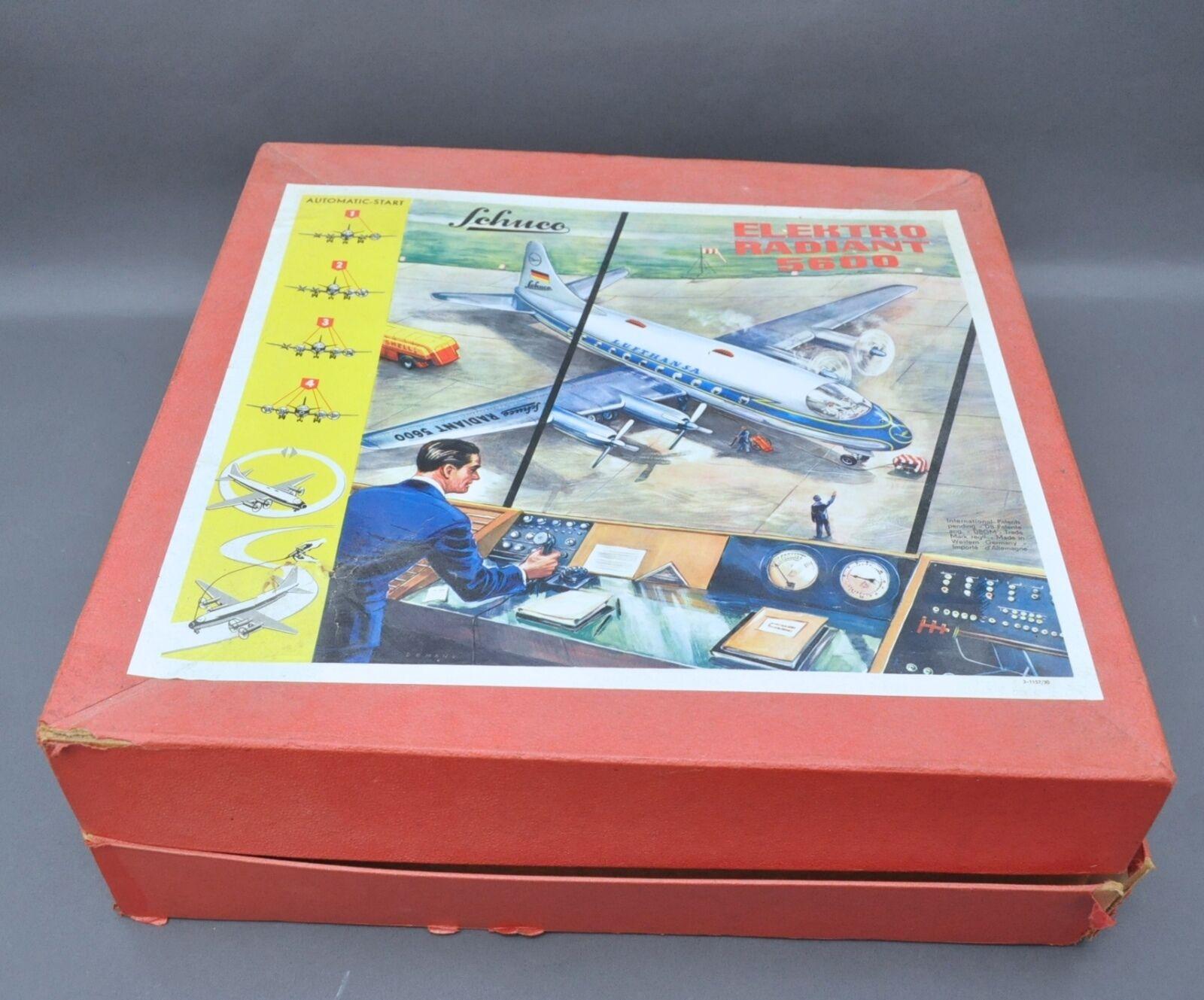 Vint .594ms Schuco BATTERIA op. elettrici radianti 5600 Lufthansa Airlines LAMIERA