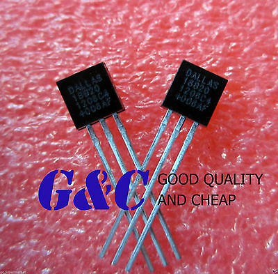10PCS IC DS18B20 TO-92 DALLAS NEW GOOD QUALITY