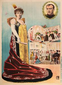 Original-Vintage-Poster-Madame-Sans-Gene-Theatre-Napoleon-FRANCE-1983