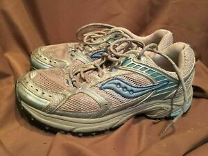 Details about (USEDWORN) SAUCONY EXCURSION TR WOMENS SIZE 10 RUNNING SHOES GREY BLUE