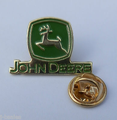 John Deere Tractor #1 Convenience Goods Other Rare Pin Badge