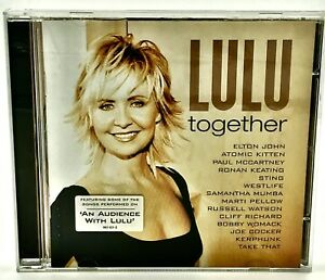 Lulu-Together-CD-2002-14-Tracks-Sung-With-Various-Artists-Take-That-Sting-Ect