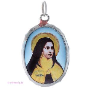Ausdauernd Kettenanhänger Silber Hl. Theresa Theresia Teresa Anhänger Für Kette