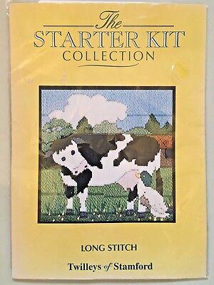NEW Long Stitch Kit ~ Twilleys ~ Starter Kit ~ 2298 Cow (CS1910/2)