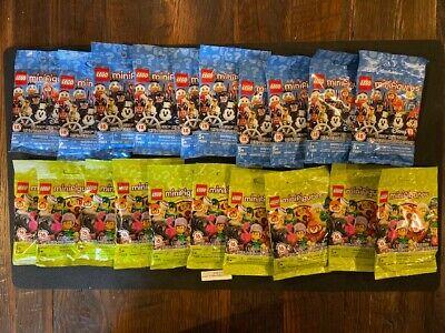 71025 Wholesale Lot-TOTAL of 20 Sealed LEGO MINI FIGURE PACKS-10 /&10 71023