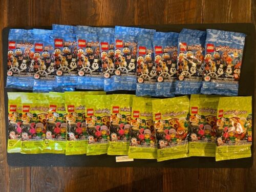 READ Wholesale Lot 5 of EACH series TOTAL  25 Sealed LEGO MINI FIGURE PACKS