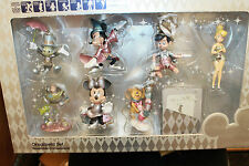 D23 Limited Edition * Disney ORNAMENTS Mickey Minnie TinkerBell Complete Set New