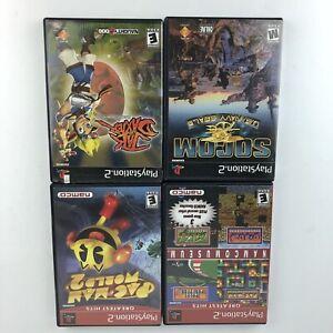 Playstation2-PS2-PacMan-World-2-Nancy-Museum-Greatest-Hits-Jak-Daxter-SOCOM-HG52