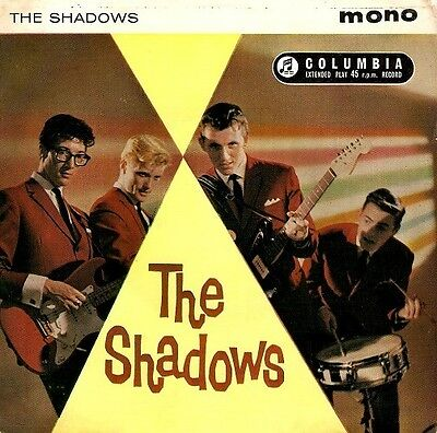 THE SHADOWS The Shadows EP Vinyl Record 7 Inch Columbia SEG 8061 1961
