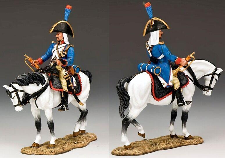 re & Country Napoleone in Egitto NE032 Montaggio Francese Trombettiere MIB