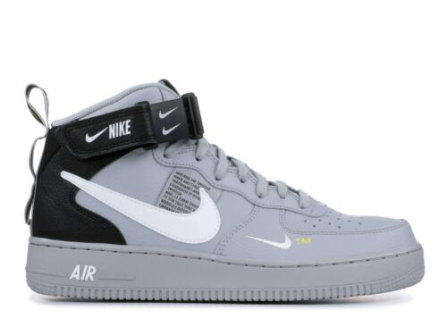 1 Utilitaire Mid 8 Hommes Nike Air 804609 Rétro Loup 07 Et Nouveau Niv 006 Gris Force Af1 tEqwRqZ