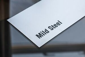 Mild Steel Sheet Plate 1 5mm 2mm 3mm Thick Ebay
