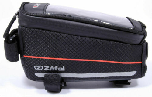 Zefal Z-Console Bicycle Bike Front Pack Bag and Smartphone Holder Black Large