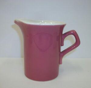 Vintage-Pink-Pottery-Cream-Pitcher