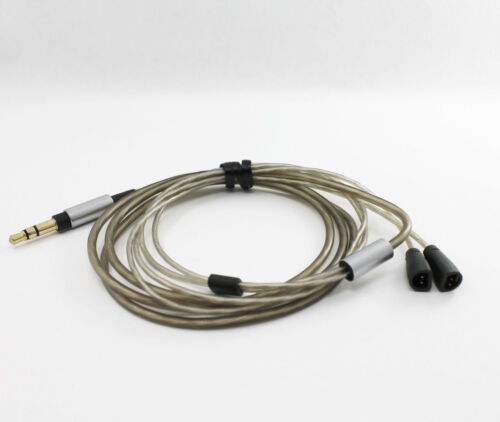 Sennheiser IE8 IE80 IE8i Earphones Upgrade Stereo Cable Replacement Cord Silver