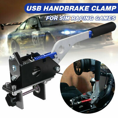 Compatible for PC//windows system only Universal Handbrake for SIM Racing USB SIM Handbrake With Clamp For Racing Games G25 G29 T500