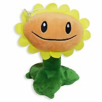Plants Vs Zombies Sunflower Plush Toy - - Free Fast Usa Shipping