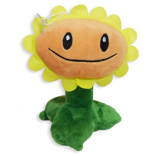 FREE FAST USA SHIPPING NEW Plants vs Zombies Sunflower Plush Toy