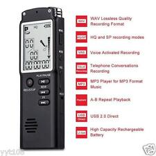 2 in 1 T60 8GB Real-Time Display Digital Voice/Audio Recorder +MP3 Player Latest