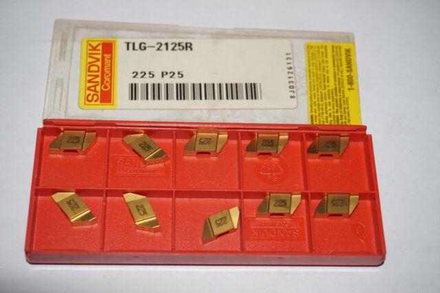 SANDVIK Coromant TLG 3038R E10 H13A Lathe Grooving Carbide Inserts 10 Pcs New
