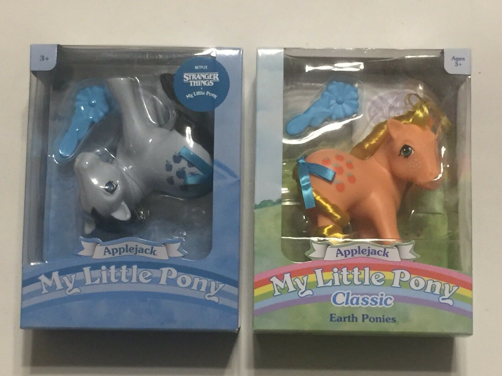 Stranger Things x My Little Pony Upside Down Applejack Figure By Hasbro