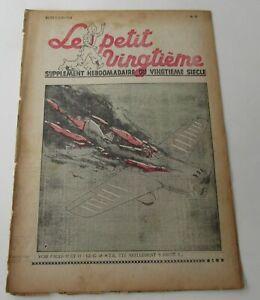 TINTIN-HERGE-LE-PETIT-VINGTIEME-NO-23-1938-BON-ETAT