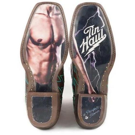 New in Box damen's Tin Tin Tin Haul Lightning Luke Stiefel With Perfect Storm Sole Größe 6 53b4e1