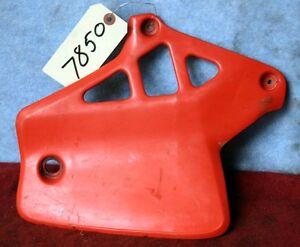 1984 Honda CR 250 Radiator Shrouds Red
