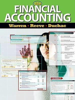 Financial Accounting Financial Accounting By Carl S Warren James