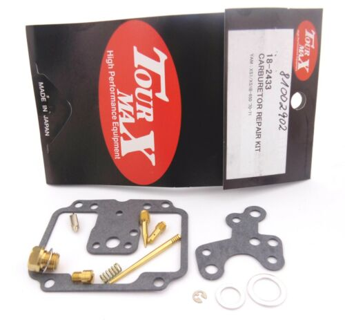 TMP Kit de réparation de carburateur TourMax YAMAHA XS 650 XS1 1970-1971