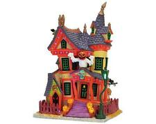 Lemax Spooky Town Halloween NIGHTMARE ON OAK ST - Exterior Lighted House *New*