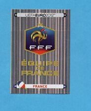 PANINI-EURO 2012-Figurina n.456- SCUDETTO/BADGE - FRANCIA -NEW