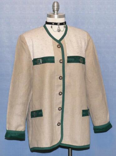 Cotton Beige Over coton Veste en lin Coat Summer Jacket Walk Women Femme sur et allemande d'été Linen Walk German B46 manteau beige B46 And FrwBR7Fq