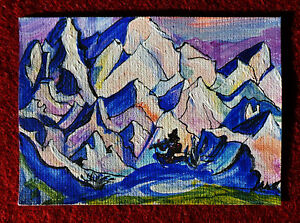 Original-art-by-Bastet-034-Mountain-Landscape-18-034-OOAK-hand-painted-ACEO