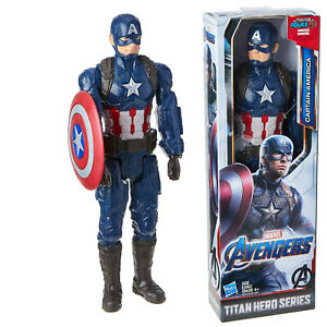 Avengers-Endgame-Captain-America-Toy-with-Shield-Super-Hero-Action-Figure-12inch