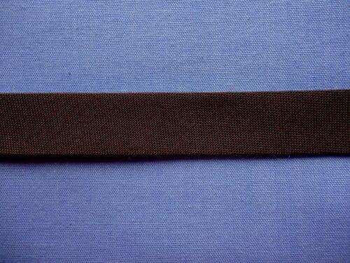x 4 metres 12mm Brown Polycotton Bias