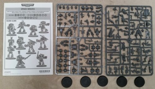 Grey Hunters 40K Space Wolves 5 Wolf Guard Blood Claws Warhammer Marines SW