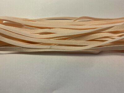Wäschegummi Gummikordel Gummilitze 6mm 5 Meter Stück für Masken Gummiband