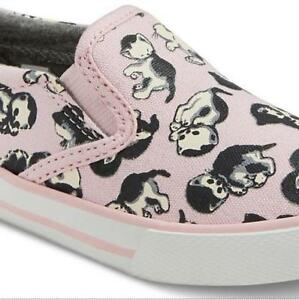 2a85d9cc054fc Details about KITTY CAT Print Pink Canvas Sneakers Shoes ~ Toddler Size 11  ~ NEW